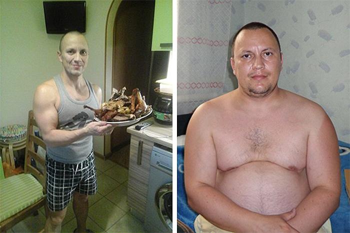 Евгений Сысолин сбросил четверть собственного веса