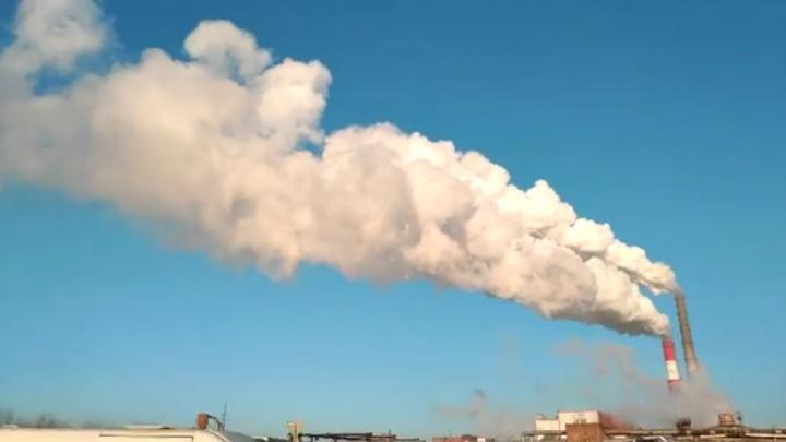 «Как пар превращается в облако пыли»: активисты и фотографы проследили за дымом от труб ТЭЦ