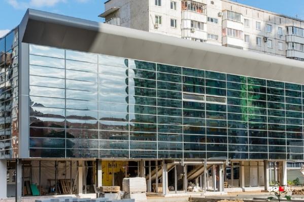 Так здание кванториума на 25 Октября, 64 выглядело в конце августа