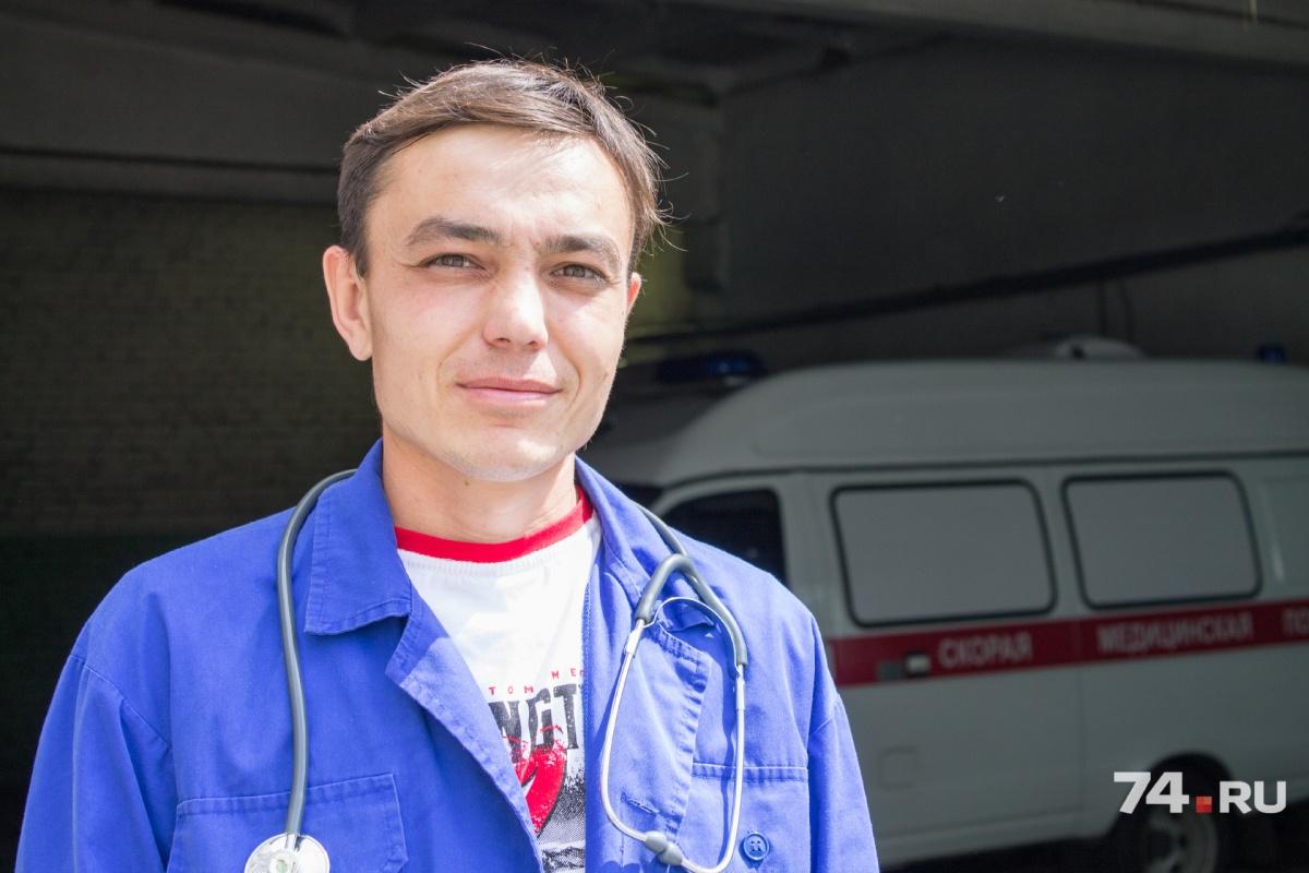 Алексей Сергеев в медицине уже 14 лет