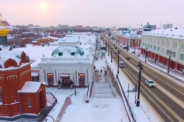 Центр Омска реконструируют за почти два миллиарда рублей