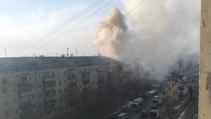 В Кургане из огня спасли двух человек