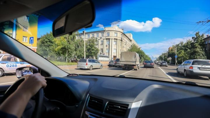 Красноярский край оказался на 12-м месте по числу машин в стране