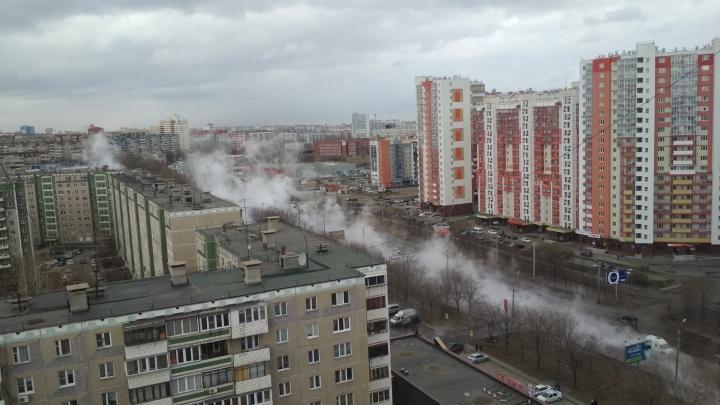 Из-за прорыва сетей без воды и тепла остались 700 домов на Северо-Западе Челябинска
