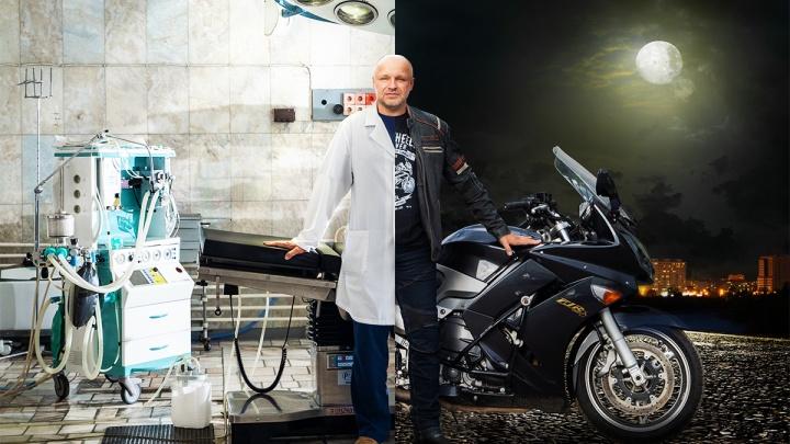 Операция на обочине: начмед БСМП-1 объездил на мотоцикле Россию, СНГ и Европу