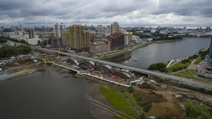 Радость для водителей: в четверг утром откроется движение по Макаровскому мосту