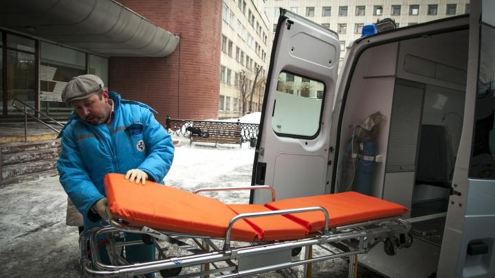 В Челябинске пять человек пострадали в ДТП с маршруткой на встречной полосе