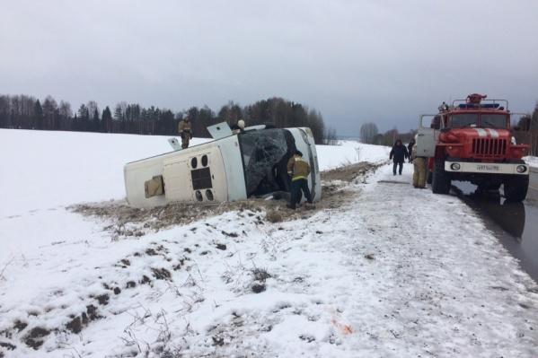 Авария произошла около 10:00 в Осинском районе на автодороге Кукуштан — Чайковский