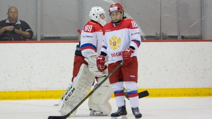 Уфимские хоккеистки отметились в США