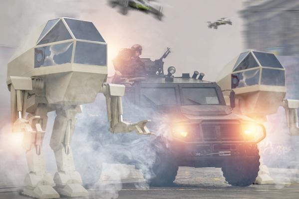 Монстры входят или вот-вот войдут в пул отечественной боевой техники