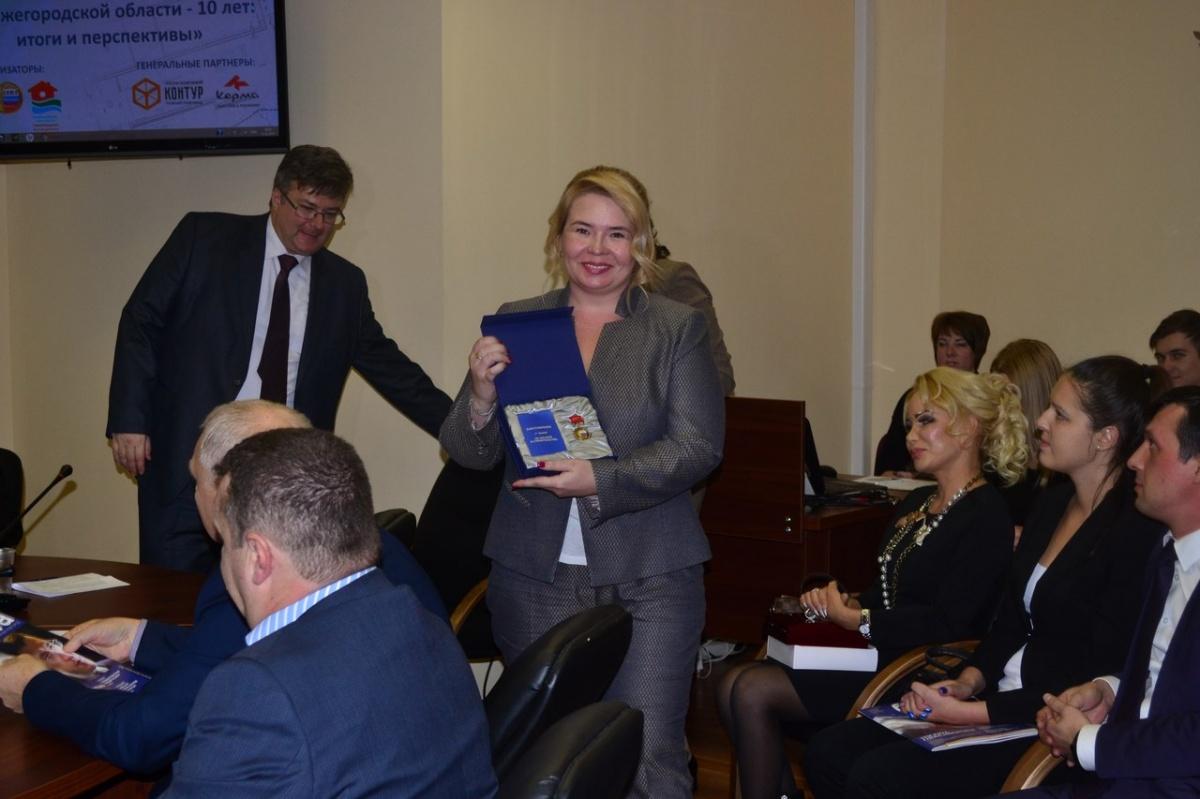 Нижегородское правительство наградило «Евродом» медалью за заслуги в строительстве