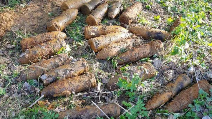 В Ярославской области у железной дороги нашли опасные снаряды времён войны
