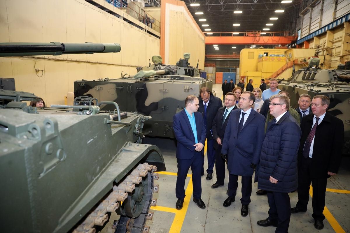 Шумков будет вместе с руководством КМЗ обсуждать ситуацию на заводе с Ростехом