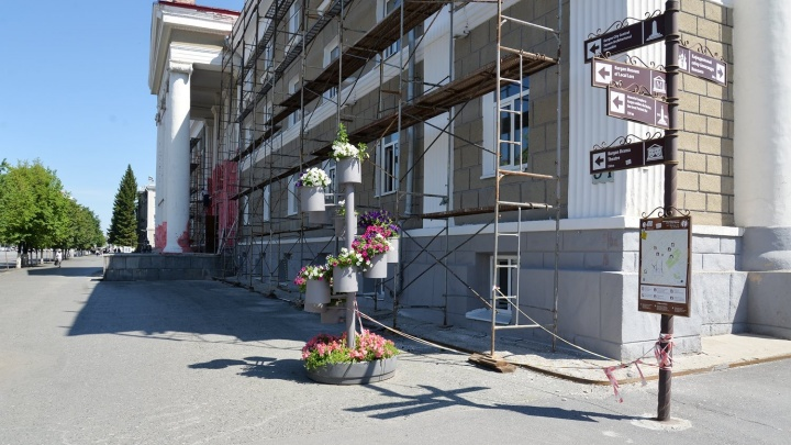 На День города ремонтируемый Дворец детского творчества обнесут забором