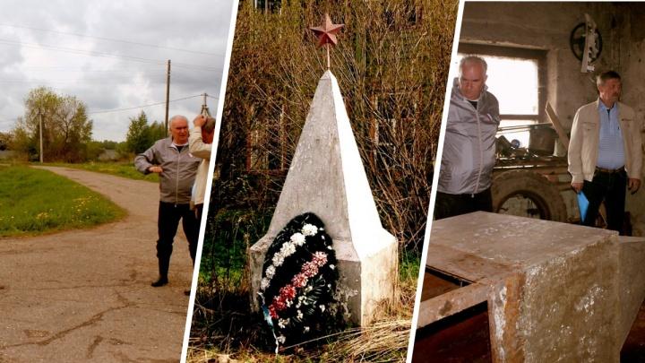 «Трудно подобрать слова»: в Ярославской области перед Днём Победы снесли памятник погибшим на войне