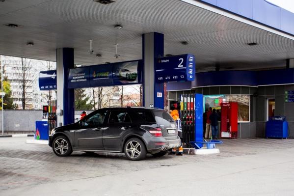 Цены выросли на все марки топлива