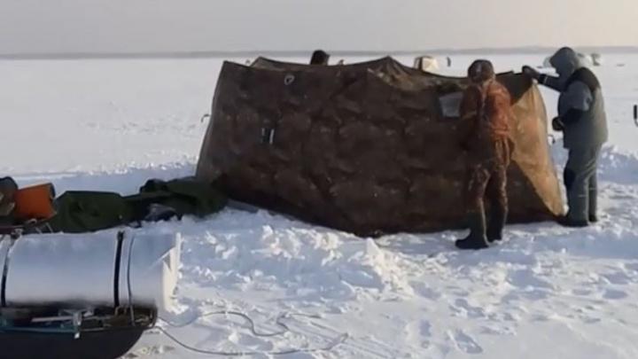 Рыбак с тремя сыновьями задохнулся в палатке на Белоярском водохранилище