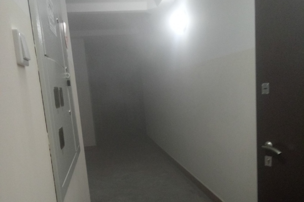 Пожар произошёл в десятиэтажном доме
