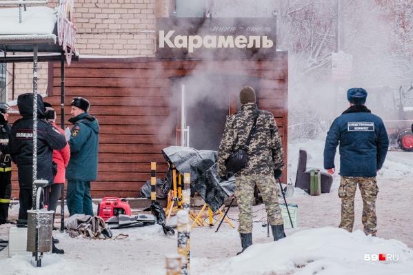ЧП в отеле «Карамель» произошло в ночь на 20 января