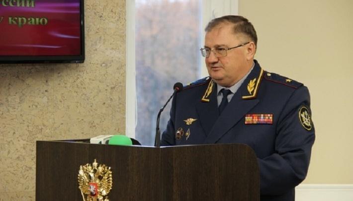 Начальник прикамского ГУФСИН Владимир Андреев покинул свой пост