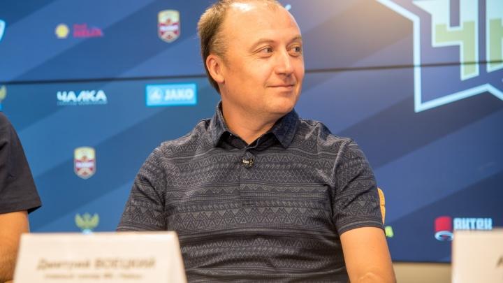 Тренер «Чайки» стал лучшим в ФНЛ