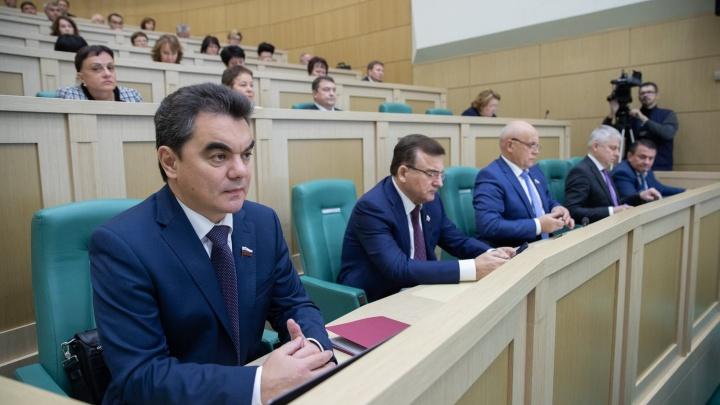 Сенатор точка РФ: экс-мэр Уфы обзавелся собственным сайтом