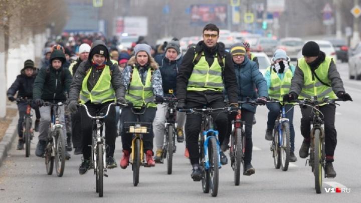 В Волгограде участники велопарада бесплатно проедут в гортранспорте
