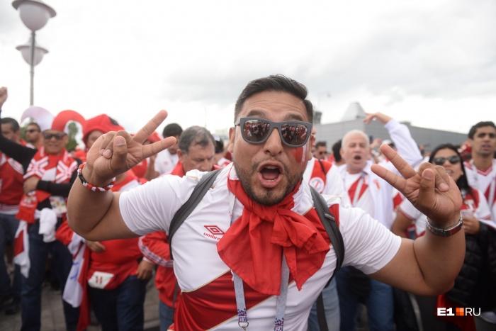 Футбольные фанаты со всего мира признали, что перуанцы были самыми яркими на ЧМ
