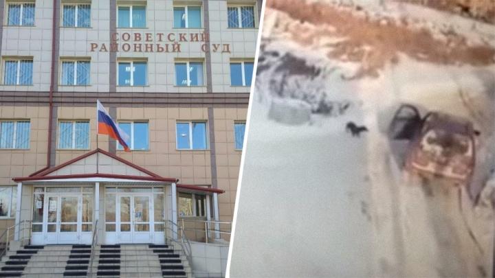 Красноярский живодер получил приговор за расстрел таксы в гаражах