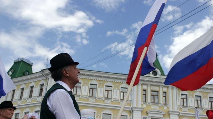 Курды, казахи и армяне: в Омске прошёл парад в национальных костюмах