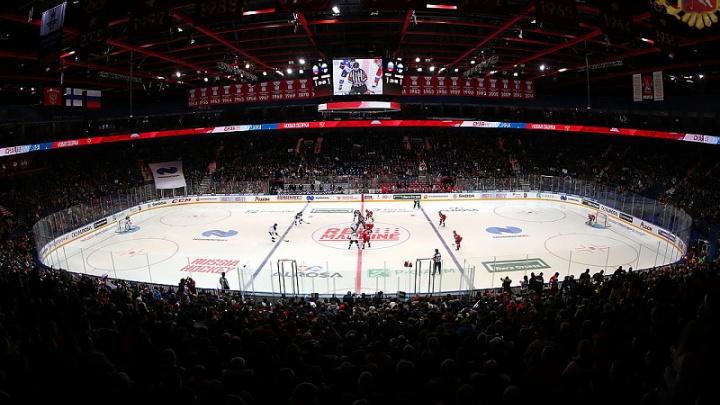 В Ярославле пройдёт матч Еврохоккейтура Россия — Швеция