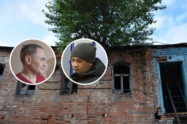 Снесенный дом стал предметом спора Башкультнаследия с уфимским врачом Финатом Нигмановым