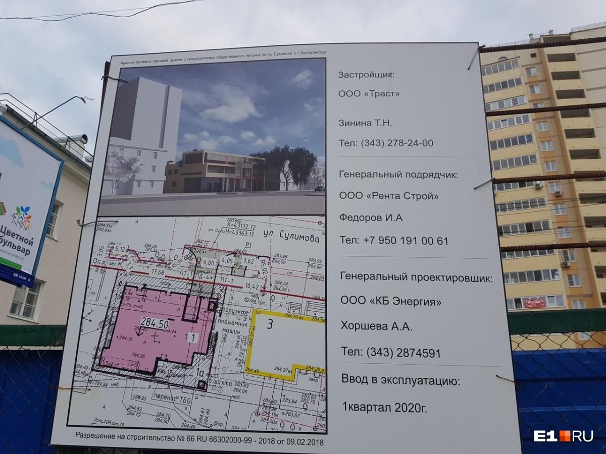 В администрации Кировского района подтвердили, что разрешение на строительство компании выдано