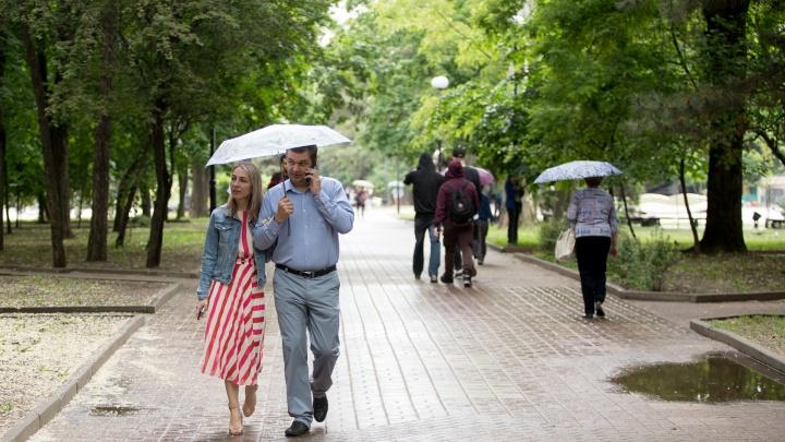 Лето всё: синоптики обещают дождливую неделю