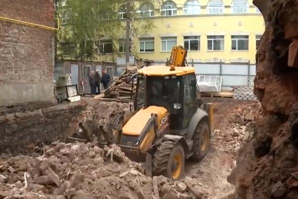 От «шахматного дома» в Нижнем Новгороде остались только руины
