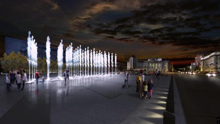 Вместо парковки на площади Ленина появится фонтан: власти дали автомобилистам ещё 2 года