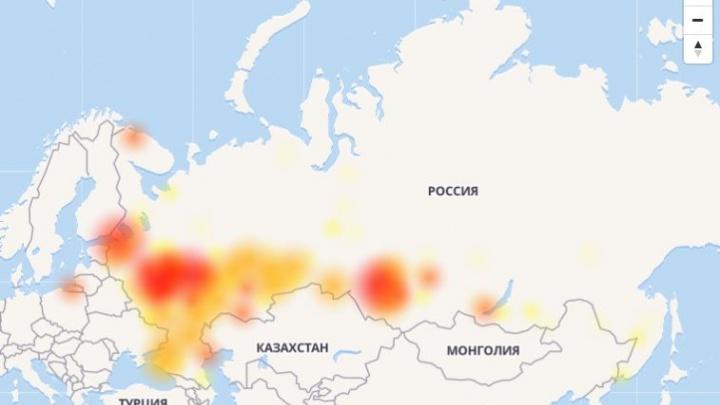 «Никому не могу писать»: новосибирцы пожаловались на сбои в работе «ВКонтакте»