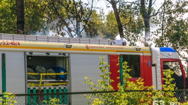 Под Тольятти пенсионер погиб при пожаре