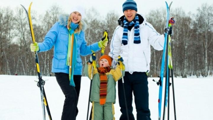 «Бросай курить, вставай на лыжи!»: в Волгограде появился прокат лыжного снаряжения