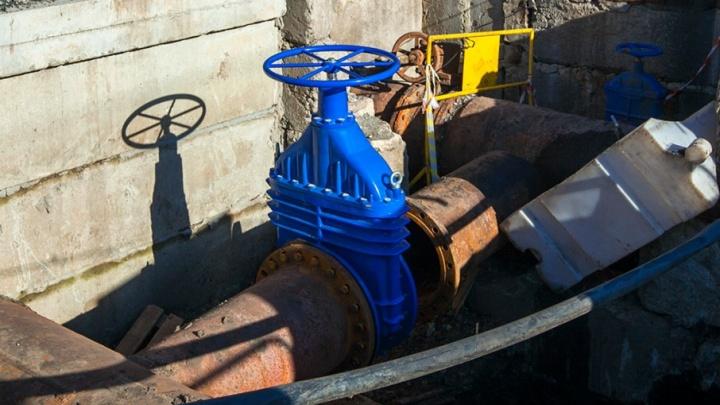 Дома в Северном остались без холодной воды на неопределенный срок