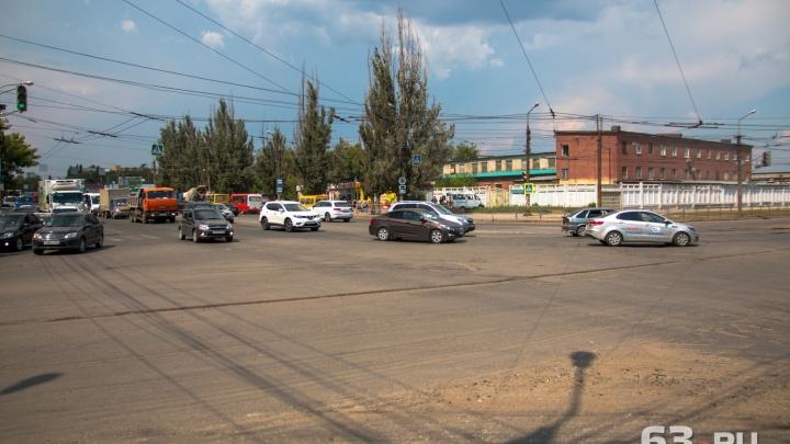 В Самаре перекроют Заводское шоссе и улицу XXII Партсъезда