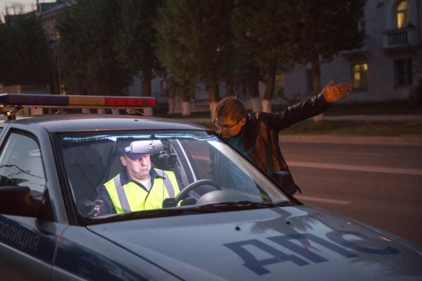 Всего за выходные автоинспекторы поймали 50 водителей