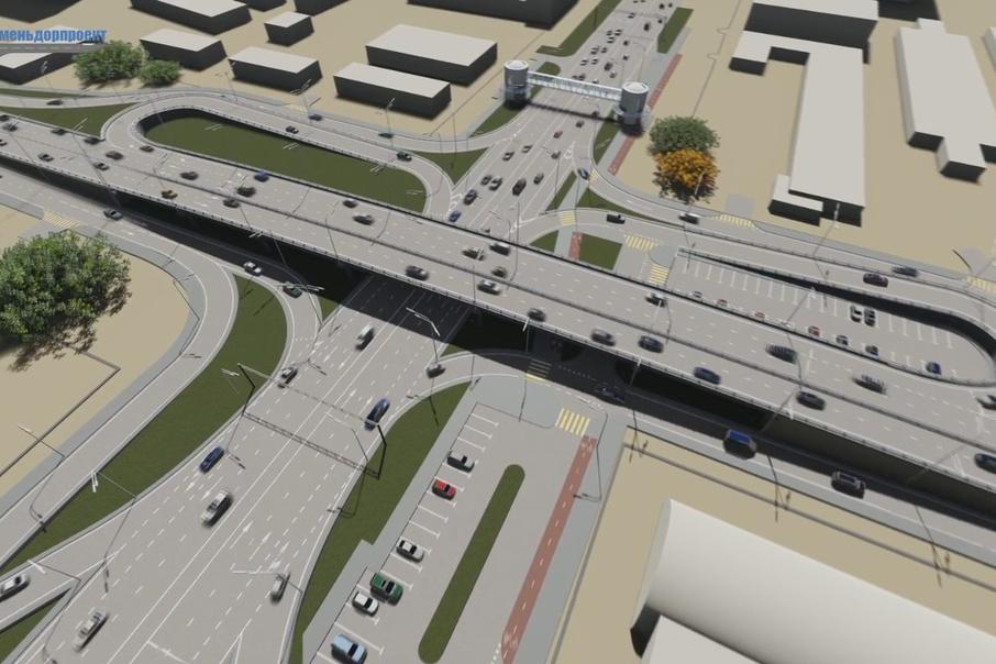 Авторы проекта рассказали, как будут ездить автомобили по Мельникайте после строительства новых развязок