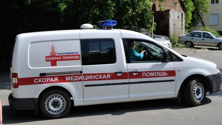 На Малышева —Гагарина автобус сбил женщину, которая перебегала дорогу