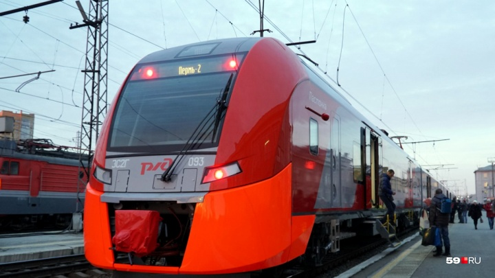 Электричка «Ласточка» будет ездить из Перми в Екатеринбург пять раз в неделю