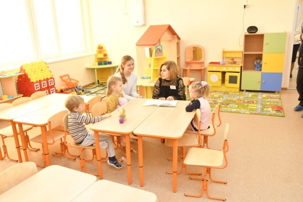 В детском саду есть ясельные группы