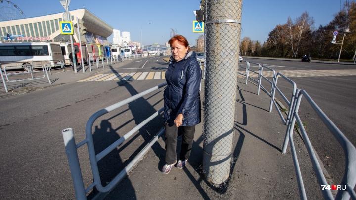 «Забористый» город:Челябинск оставили без тротуаров и превратили в полосу препятствий