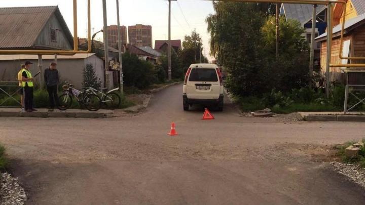 Пьяный новосибирец без прав сбил велосипедистку в Кировском районе