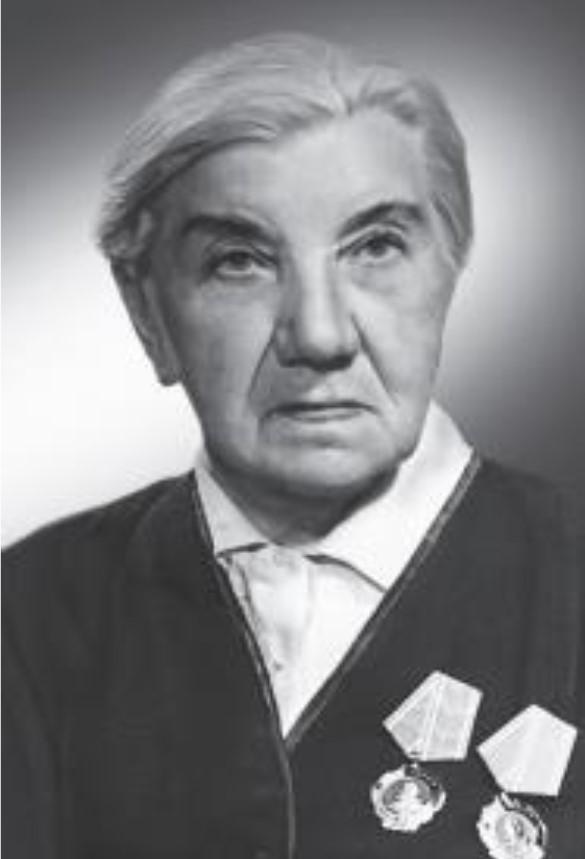 Анна Бычкова — первый почетный житель Свердловска, Герой Социалистического Труда, имеет два ордена Ленина