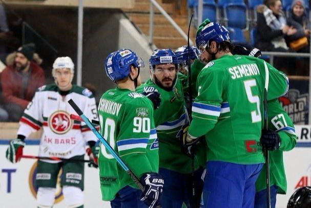«Салават Юлаев» проиграл вторую игру на Кубке Шпенглера